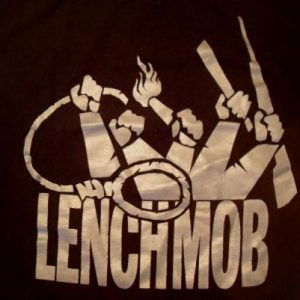 Ice Cube 1990 LENCH MOB crew vintage T-shirt