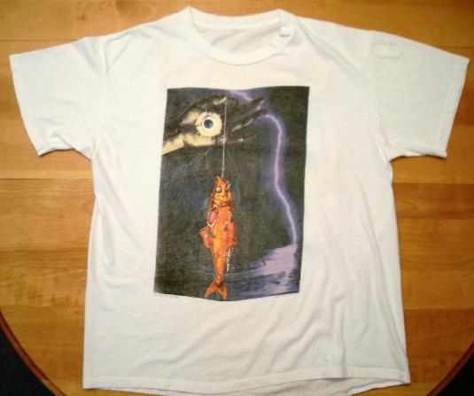 Faith No More 1990 The Fish Lives Vintage Tshirt