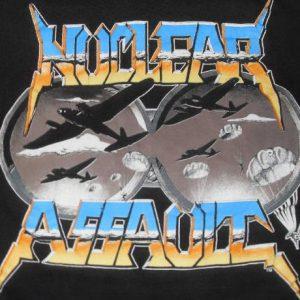 Nuclear Assault 1989 Vintage Tshirt