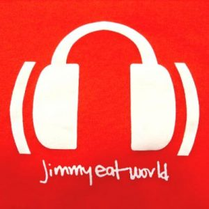 Jimmy Eat World - Vintage EMO Red T-shirt