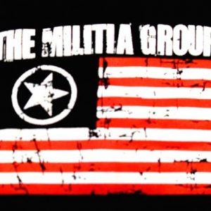 The Militia Group Vintage EMO record label t-shirt