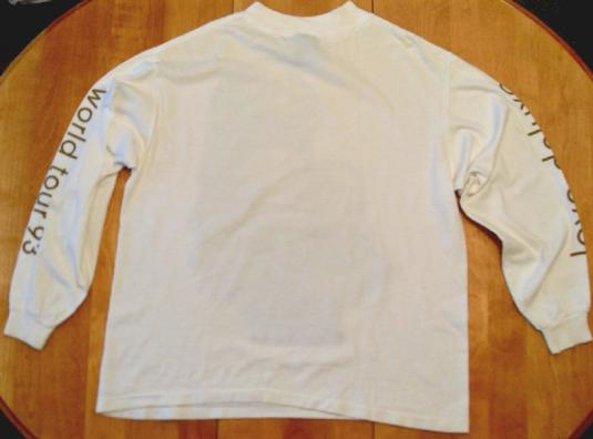 Sade -1993 Love Deluxe World tour Vintage long sleeve