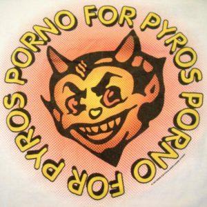 Porno For Pyros 1993 Tour Vintage T-shirt