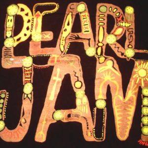 Pearl Jam 1992 Music for Rhinos (TEN ALBUM) Vintage Tshirt
