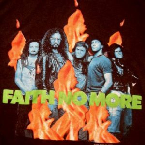 Faith No More 1989 The Real Thing Tour Vintage Tshirt