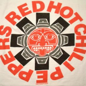 Red Hot Chili Peppers 1991 Blood Sugar Era Vintage T-Shirt