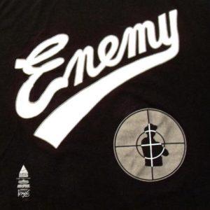 Public Enemy 1991 Apocalypse Vintage T-shirt