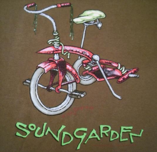 Soundgarden 1994 Pushead come stand me up Vintage T-shirt