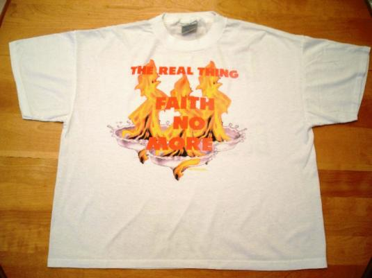 Faith No More 1989 The Real Thing Vintage T-Shirt