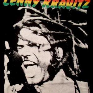 Lenny Kravitz 1991 Mama Said Tour Vintage T-shirt