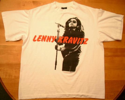 Lenny Kravitz 1991 There's Only One Truth Vintage T-shirt