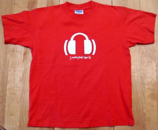 Jimmy Eat World – Vintage EMO Red T-shirt