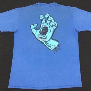 Vintage 80's Screaming Hand Santa Cruz Shirt