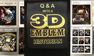 3D Emblem Historian and Expert