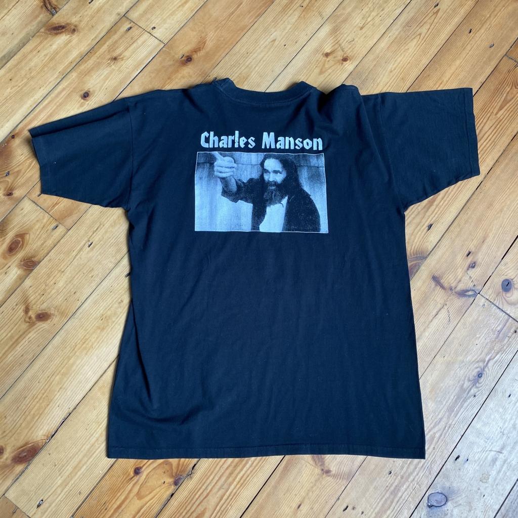 Vintage Charles Manson Jesus T-Shirt