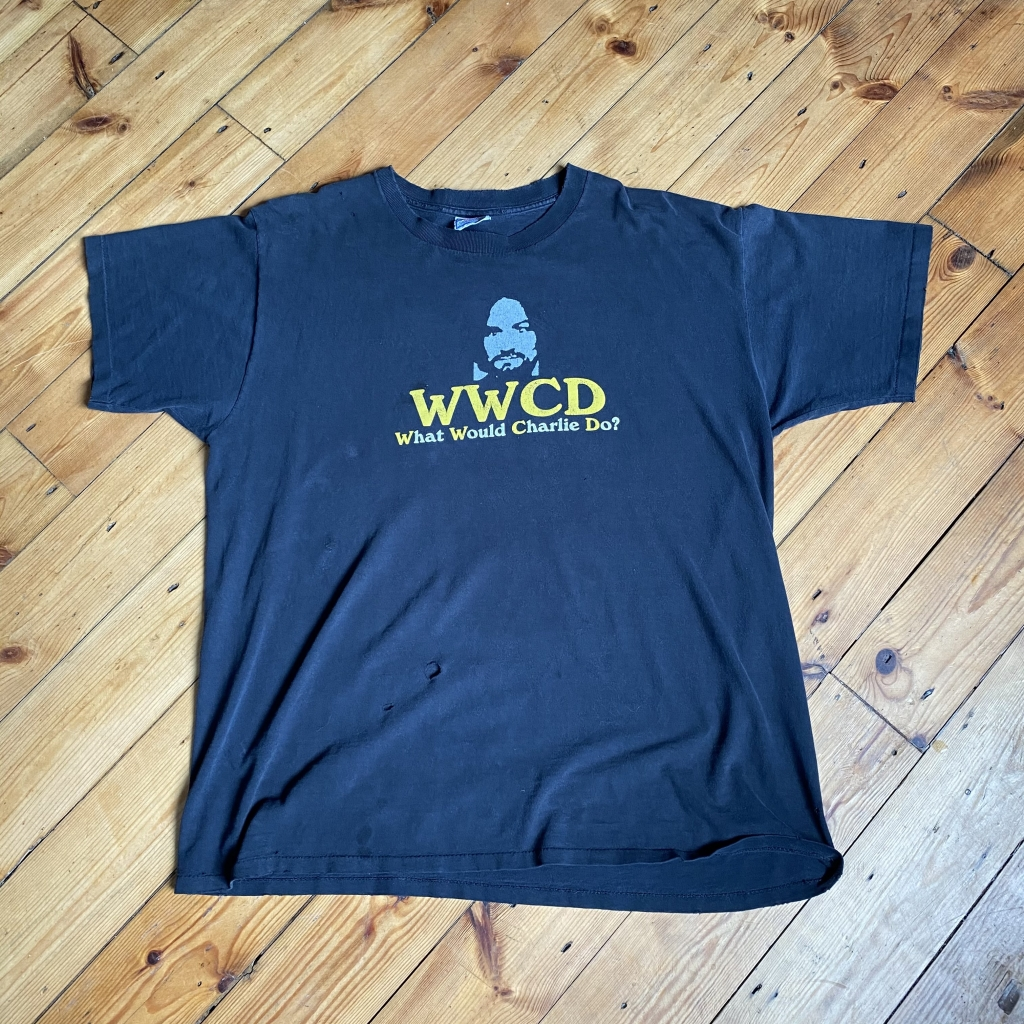 Vintage What Would Charlie Do T-Shirt