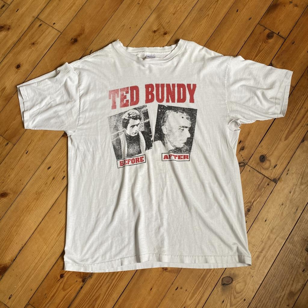 Vintage Ted Bundy Before After T-Shirt
