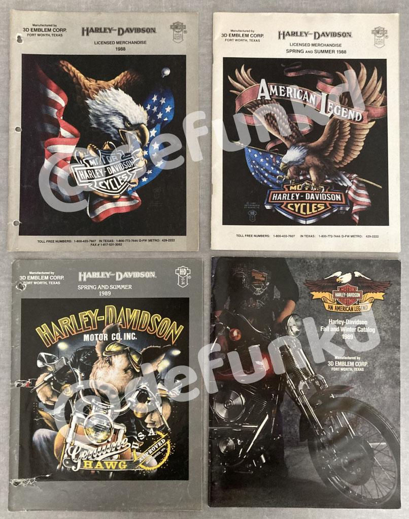 Harley Davidson 3D Emblem Catalog