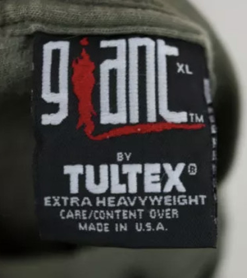 Giant By Tultex Extra Heavy Weight Tag