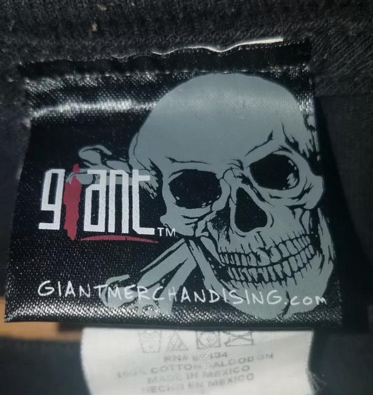 Giant Merchandising Skull Tag