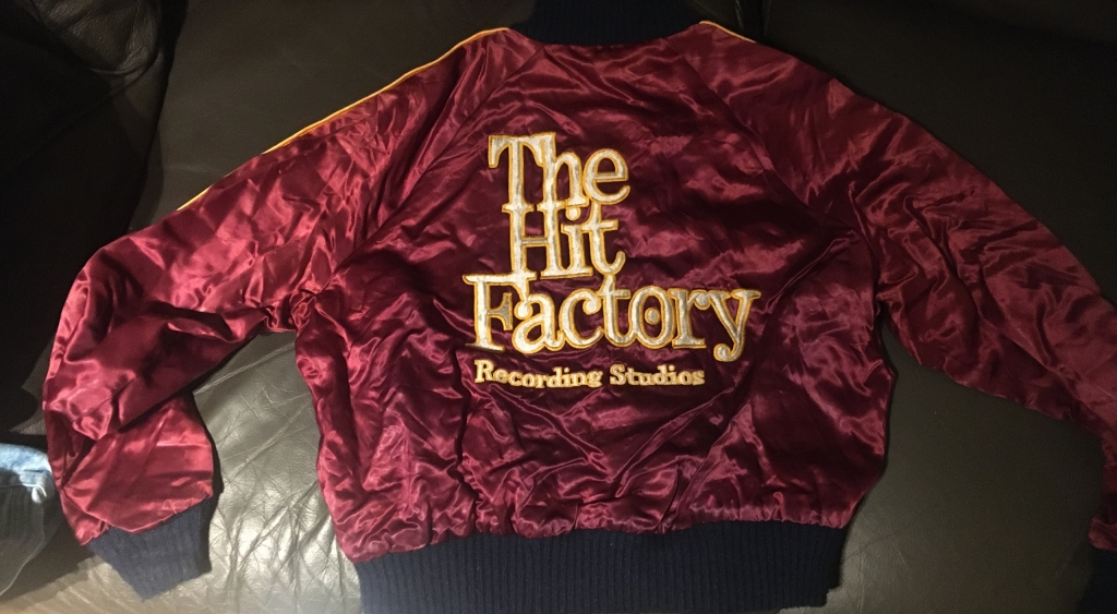 Vintage The Hit Factory Recording Studio Jacket
