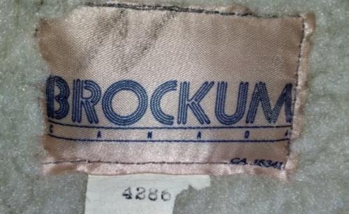 Brockum Canada Jacket Tag