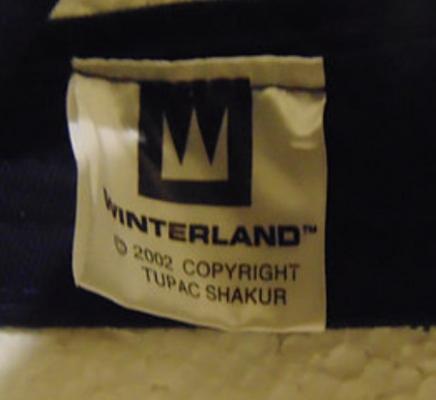 Winterland 2002 Tupak Shakur Tag