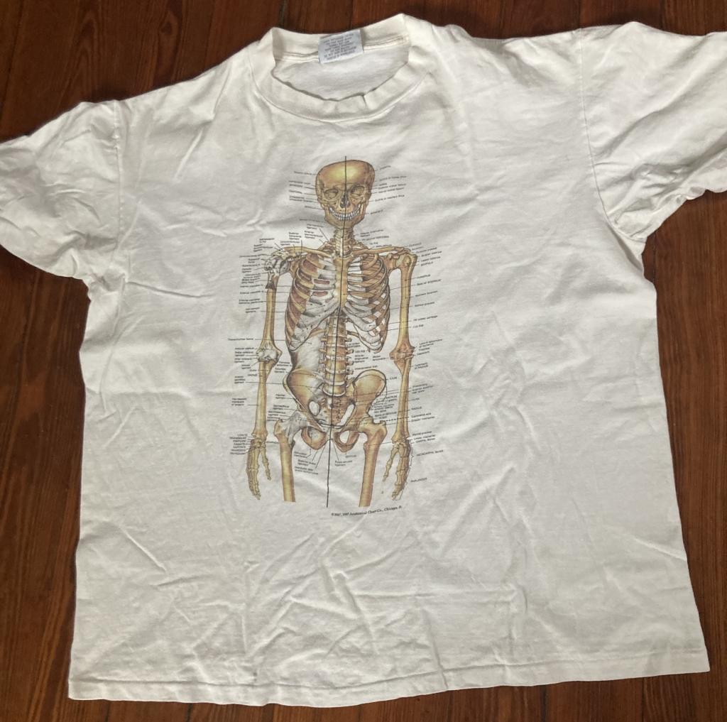 Anatomical Chart Co Skeleton T-Shirt