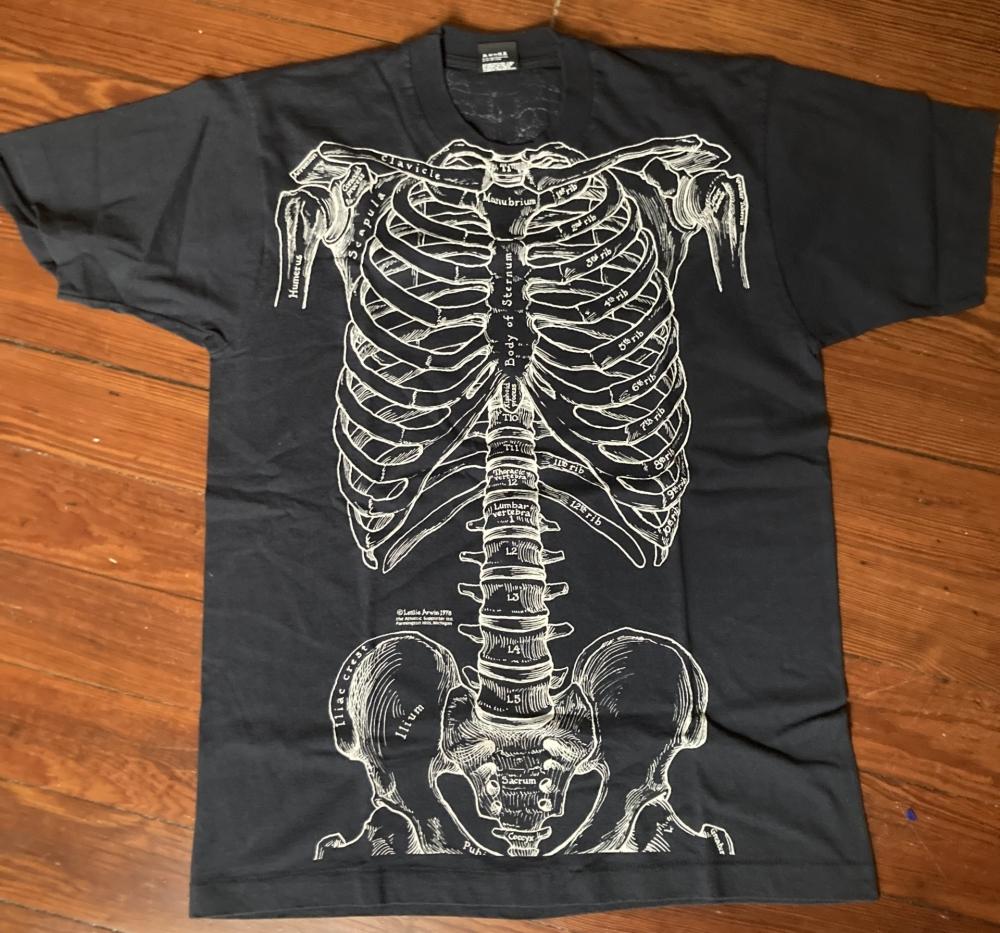 Leslie Arwin Skeleton T-Shirt
