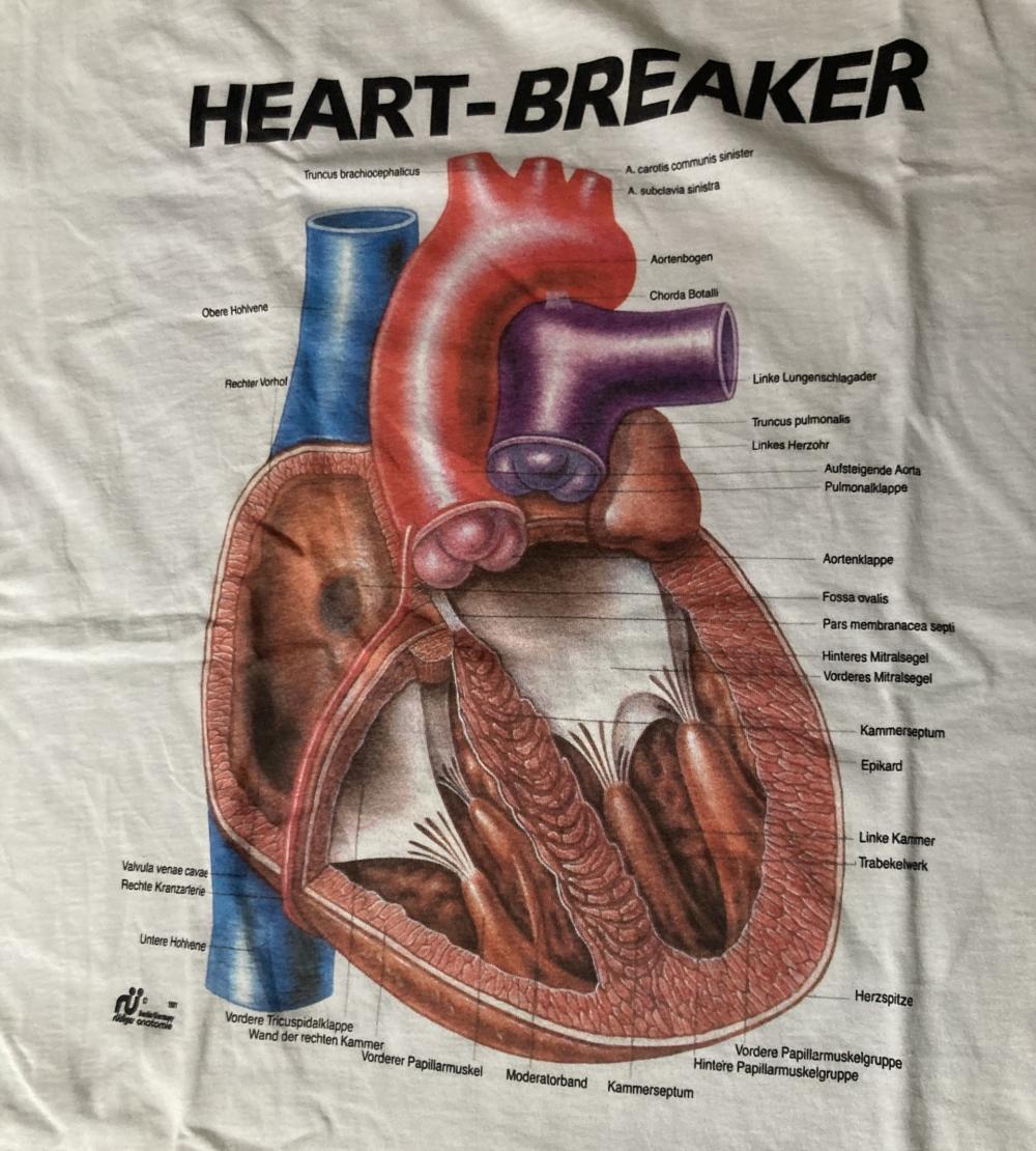 Rudiger Anatomie Heart-Breaker T-Shirt Close Up