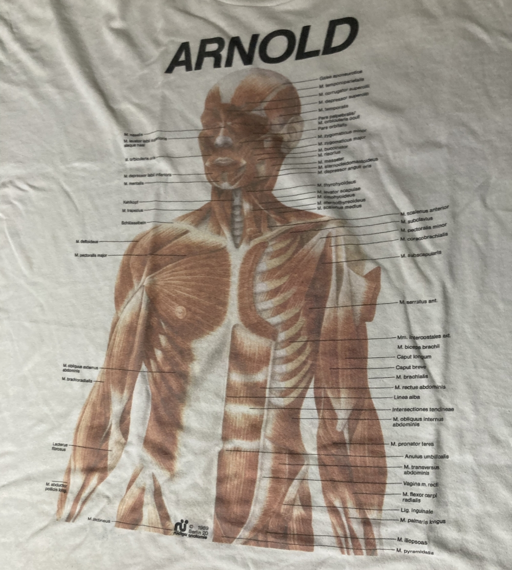 Rudiger Anatomie Arnold T-Shirt Close Up