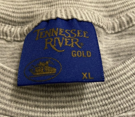 Vintage Tennessee River Gold Steamboat T-Shirt Blue Tag 1980s