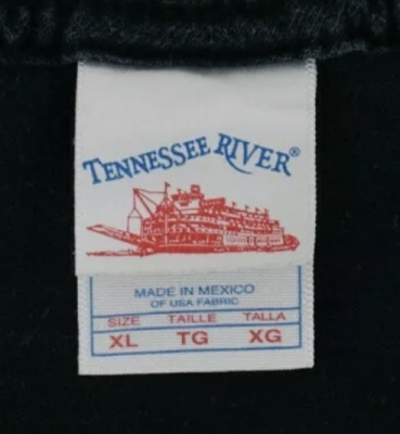 Tennessee River Made In Mexico Double Tag