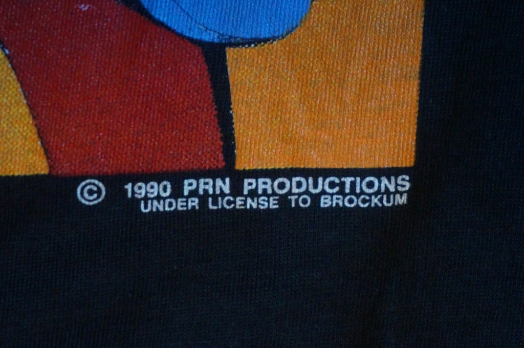 copyright 1990 PRN productions under license to brockum
