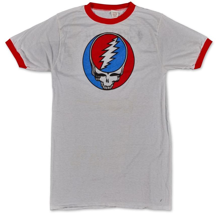 Vintage Grateful Dead Spring 1977 tour shirt Ringer sells for $15,120